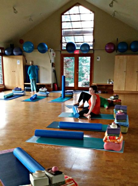 Yoga Studio at Mountain Trek