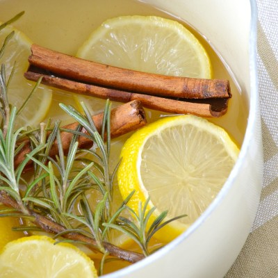 Lemon and Rosemary Simmering Potpourri