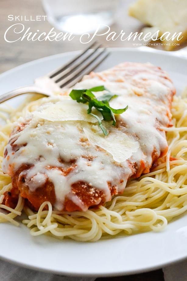 Skillet Chicken Parmesan Mother Thyme