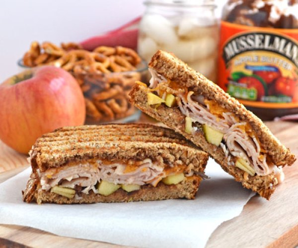 Turkey Apple Cheddar Sandwich Recipe: 60 Kid-Friendly Recipes