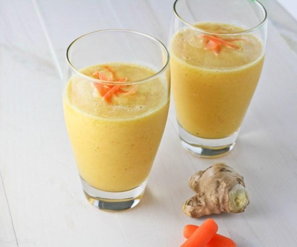 Carrot Ginger Orange Smoothie