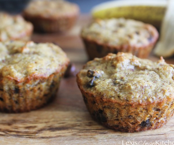 Grain-Free Chocolate Chip Banana Muffins