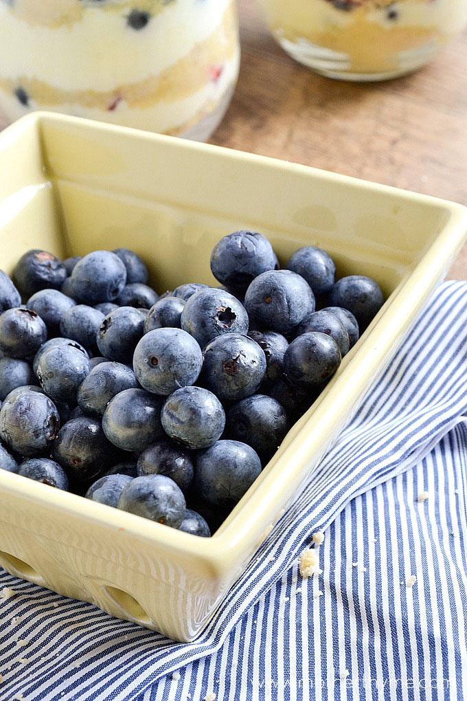 Lemon Mousse Berry Parfaits | Mother Thyme