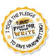 BIC® Fight For Your Write | www.motherthyme.com