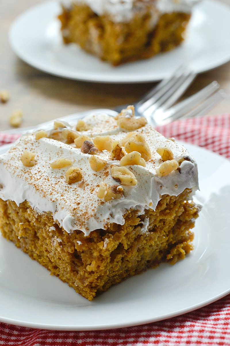 Yellow Cake Mix Recipe With Pumpkin