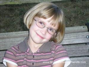 Abigail's new glasses