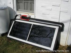 Solar furnace installed