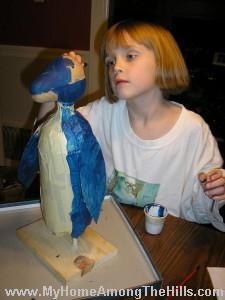 Making a penguin