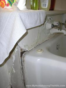 Nasty old bathroom