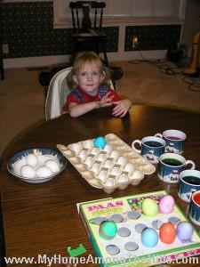 Easter eggs in Nashville 2005