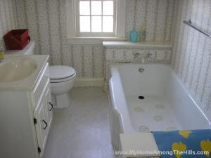 Nasty old bathroom