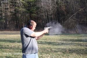 Shooting a 45!