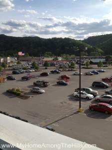 The view from atop Lowes