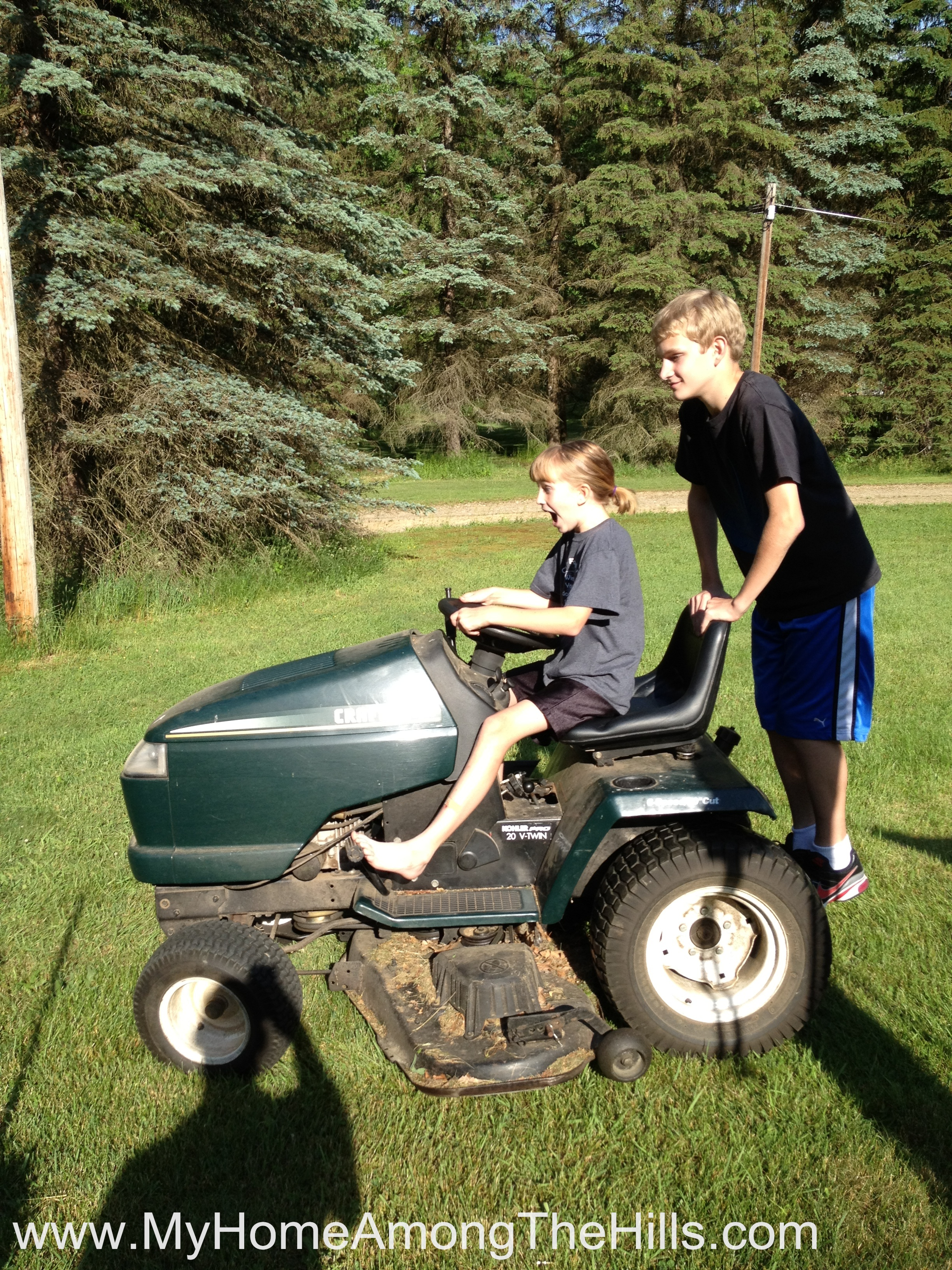 Riding Lawn Mower Sensors : Deeper than a holler my home among the hills