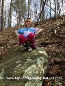 Queen of the lichen rock