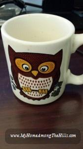 Pfaltzgraff Owl Mug