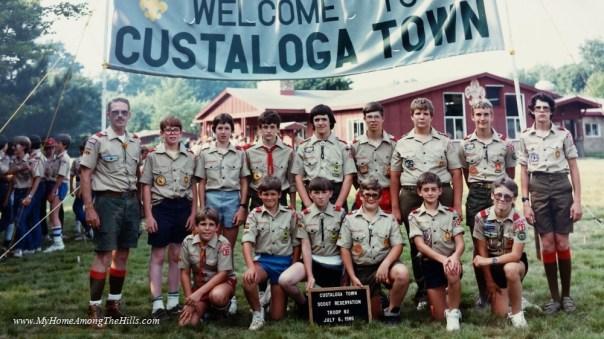 Camp Custaloga Town 1986
