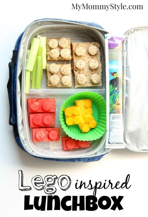 Lego Inspired lunchbox