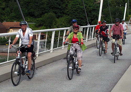 500 E Bike Tour mit MdL Nelius 1