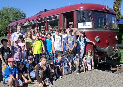 Schienenbus Ferienprogramm Schlotfeger