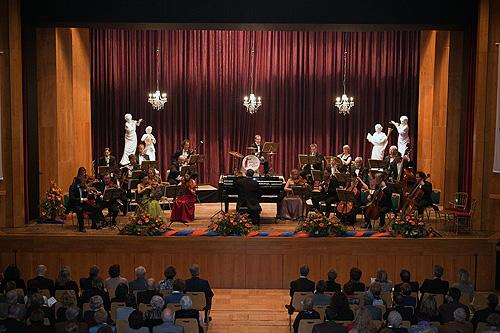 Zahlreiche Konzertbesucher trotzten dem Wetter