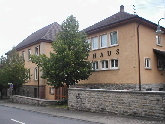 Billigheim rathaus