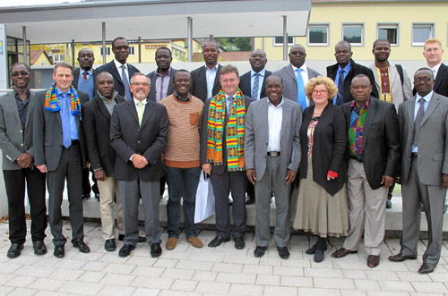 Delegation Ghana