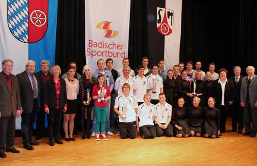 Alle Sportler des Jahres Buchen 2013