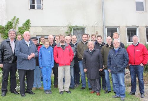 2014 04 22 Plus Energiedorf beeindruckt Besucher aus der Bioenergie Region