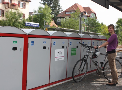 Fahrradboxen 2