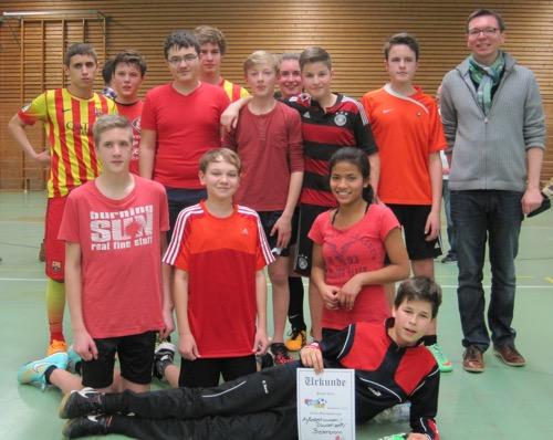 Konfis aus Aglasterhausen gewinnen Konfi Cup
