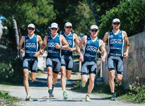 PR Team running