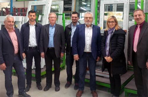 Bundestagsabgeordnete Nina Warken besucht Firma Schenk in Boxberg