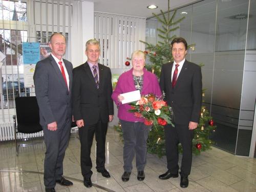 Wieder ein 5.000 Euro PS-Spar-Gewinn bei der Sparkasse Neckartal-Odenwald