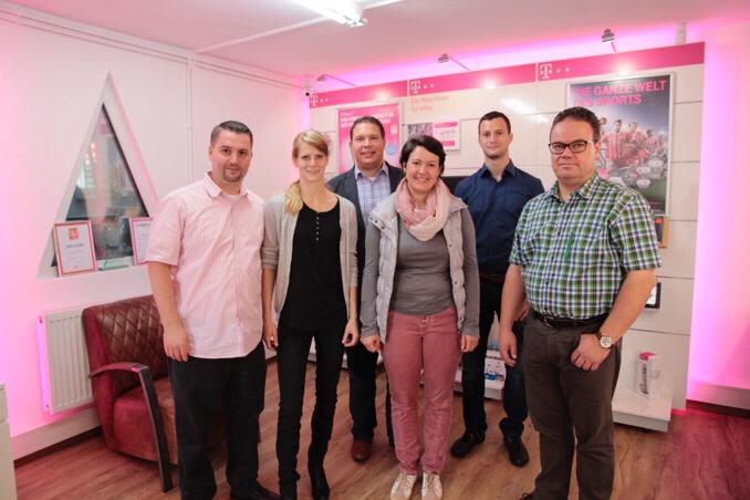 ✓ Waldbrunn: Telekom-Partner-Shop neu eröffnet - NOKZEIT
