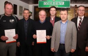 VfR Scheidental ehrt treue Mitglieder. (Foto: Liane Merkle)