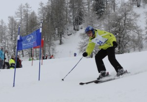 Beim Super-G errang Max Bender am Ende die Goldmedaille. (Foto: Special Olympics Liechtenstein)