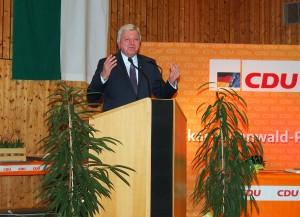 Rede Ministerpräsident Volker-Bouffier.  (Foto: NOKZEIT)
