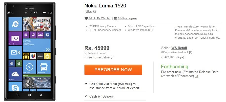 Flipkart-Lumia 1520-NPU
