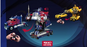 Jouet Hasbro Transformers NIKKO Transformers 4 Robot RC Optimus Prime