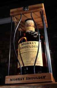Coffret Noël whisky Monkey Shoulder Out of The Cage 2