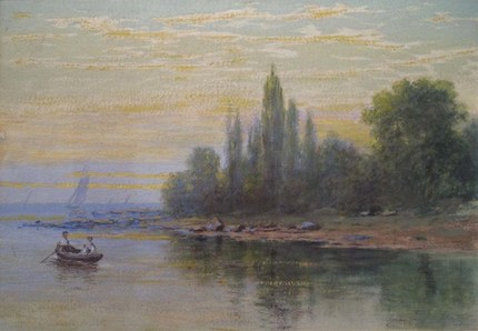 NSL_Hopper Years_On_the_River_near_the_Lake_by_Davies