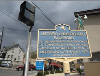 Underground Railroad Historic Marker