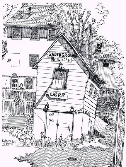 Underground Railroad shrine