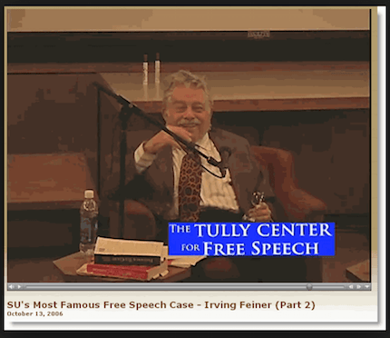 Feiner at Tully Center