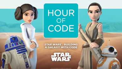 Hour of code: Star war