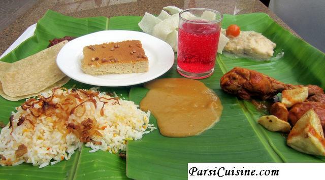 Parsi Lagan nu Patru (wedding and Navjote Parsi Cuisine)