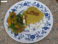 Serve with Mora Dal (Dhan Daar) Chawal (steamed rice)