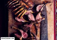 Grilled Persian Rack of Lamb