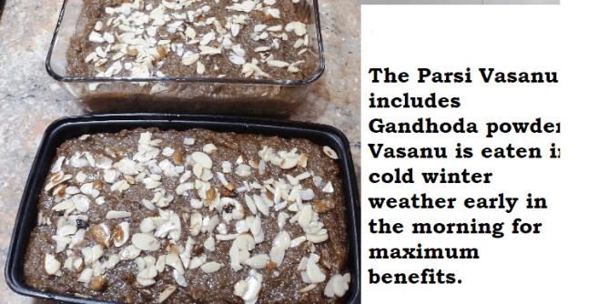 Health benefits of Ganthoda powder in Parsi Vasanu